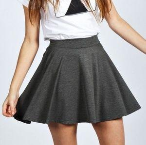 Old Navy Grey Skater Skirt